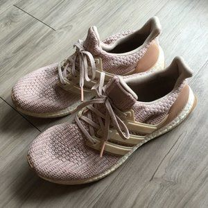 Adidas Woman's Light Pink Ultra Boost Shoes